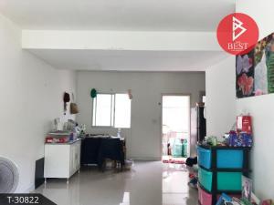 For SaleTownhousePattaya, Bangsaen, Chonburi : 2 storey townhome for sale, Pruksa Nara Village Nong Mon - Chonburi