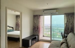 For SaleCondoBang Sue, Wong Sawang : Condo for sale Lumpini Ville Prachachuen Phongphet 2, good location, building A, high floor with furniture (S2073)