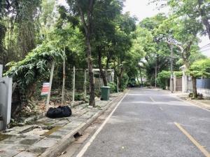 ขายบ้านเสรีไทย-นิด้า : ขายที่ดินเปล่า 147 ตรว. หมู่บ้านนวธานี ถนนเสรีไทย ซอยต้นโครงการ ใกล้ทางขึ้น-ลงมอเตอร์เวย์ เข้าออกได้ทั้งเสรีไทย และเกษตร-นวมินทร์