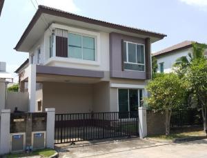 For SaleTownhouseRama 2, Bang Khun Thian : 2 storey house for sale, Casa Presto Village, Rama 2 Casa Presto Rama 2, Rama 2 Road, area 39 sq.wa., 3 bedrooms, 2 bathrooms, Bang Khun Thian - Chaithale Road, Tha Kham Subdistrict, Bang Khun Thian District, Bangkok, price 4,100,000 baht
