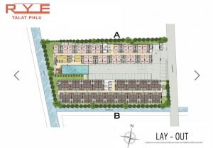 Sale DownCondoThaphra, Wutthakat : Sale down payment, RYE, Pool Market, 4th floor, Building B + 10,000 baht