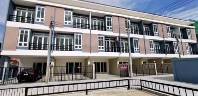 For SaleTownhouseRama5, Ratchapruek, Bangkruai : New project Tiwanon Townhome 3 floors, 4 bedrooms, 5 bathrooms, 1 multipurpose room