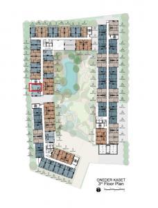 ขายดาวน์คอนโดแจ้งวัฒนะ เมืองทอง : Oneder Kaset 21.9 ตร.ม ห้องโปร ราคาถูกสุดในโครงการ 1.59ล้าน ชั้น3 Fully Furnished
