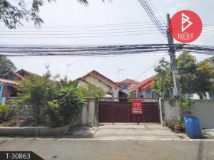 For SaleHouseSamrong, Samut Prakan : Single storey house for sale, Chonthep Village, Bang Phli, Samut Prakan