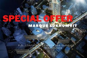 For SaleCondoSukhumvit, Asoke, Thonglor : ✨ SPECIAL OFFER ✨ Unit For Sell Ultimate Class Condo Marque 3bed (s) Pls. Contact Miss Noon 0645542655