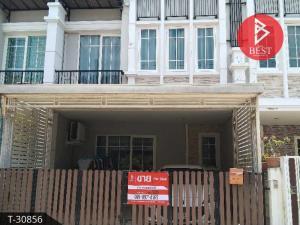 For SaleTownhouseRama5, Ratchapruek, Bangkruai : Townhome for sale, Golden City Village, Pinklao - Charansanitwong, Bang Kruai, Nonthaburi