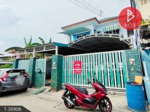 For SaleHouseSamrong, Samut Prakan : House for sale, built by myself, Soi Suksawat 84, Pracha Uthit-Khu Sang, Samut Prakan, beautiful, ready to move in.