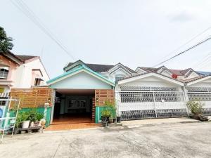 For SaleHouseOnnut, Udomsuk : House for sale, Rangsiya Village, Sukhumvit 103, Udomsuk 58, near BTS Udom Suk, 37 sq m.