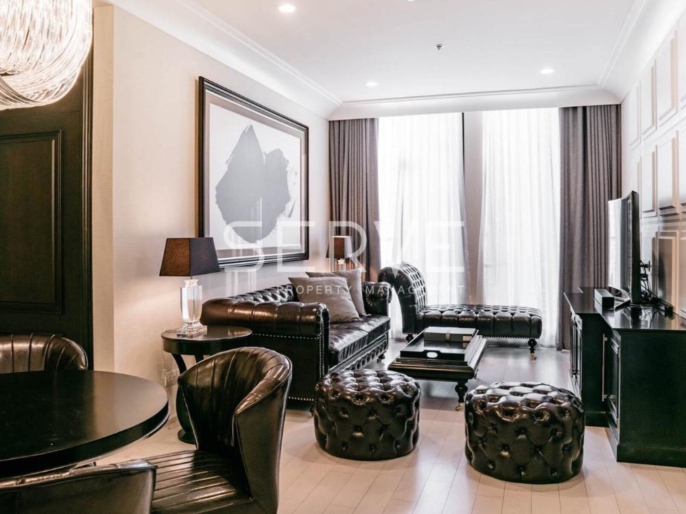 For RentCondoWitthayu,Ploenchit  ,Langsuan : Noble Ploenchit for Rent - Rare Item - Modern Luxury 2 Bed Corner Unit for Rent / Next to BTS Phloen Chit