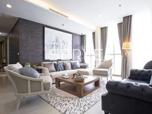 For RentCondoWitthayu,Ploenchit  ,Langsuan : Noble Ploenchit for Rent - RARE Item - 3 Bed Corner Unit with 3 Views (North, East & South) BTS Phloen Chit