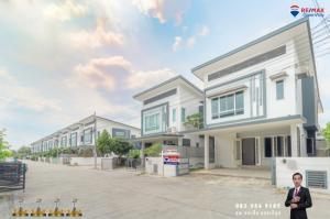 For SaleHouseRama 2, Bang Khun Thian : House for sale in Rama 2, never lived in Motto Village. Kanchanaphisek-Rama 2, behind the rim, private