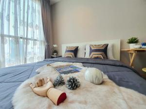 For RentCondoRama9, Petchburi, RCA : 🥂 New room, very room, city view 🥂 🔥IDEO MOBI RAMA 9 only 11,000 ฿