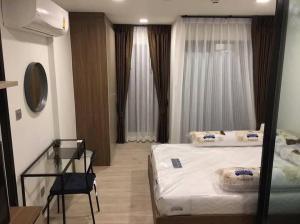 For RentCondoRangsit, Patumtani : ให้เช่า Kave ตรงข้าม ม.กรุงเทพ ตึก A ชั้น 3 ห้อง Extra ฟรีโปรหลักพัน!!