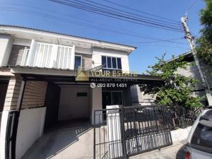 For RentTownhouseRama5, Ratchapruek, Bangkruai : Townhome for rent, Soi Wat Lat Pladuk Kanchana - Pruksa Ville 69 - 3 bedrooms, 2 bathrooms.