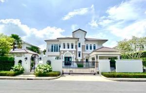 For SaleHousePinklao, Charansanitwong : luxury mansion for sale LADAWAN Ratchaphruek-Pinklao, new house, 169.2 sq m.