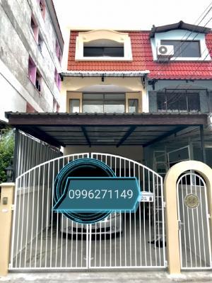 For RentTownhouseLadprao 48, Chokchai 4, Ladprao 71 : Townhouse 3 floors Ladprao 64
