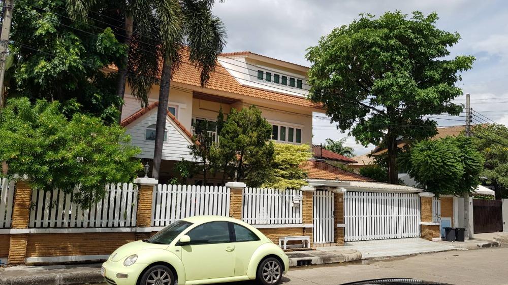 For SaleHouseChengwatana, Muangthong : (Sale) detached house Grand Canal Village Prachachuen near Business School, Muang Thong, 420 sq m, very beautiful house, good location