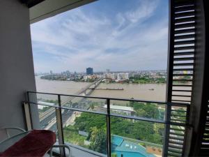 ขายคอนโดบางซื่อ วงศ์สว่าง เตาปูน : ขายถูกสุด 1 bed วิวแม่น้ำ ตึก A 6.95 ล้าน