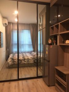 For RentCondoRamkhamhaeng, Hua Mak : Condo for rent Knightsbridge Collage Ramkhamhaeng 4th floor 32 sq m ฿ 12,000