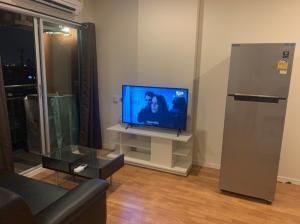 For RentCondoOnnut, Udomsuk : Condo for rent Lumpini Ville Punnawithi 1 bedroom fully furnished
