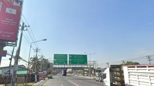 For SaleLandMahachai Samut Sakhon : Land for sale 15,000 baht per square wah on Phutthasakhon Road.