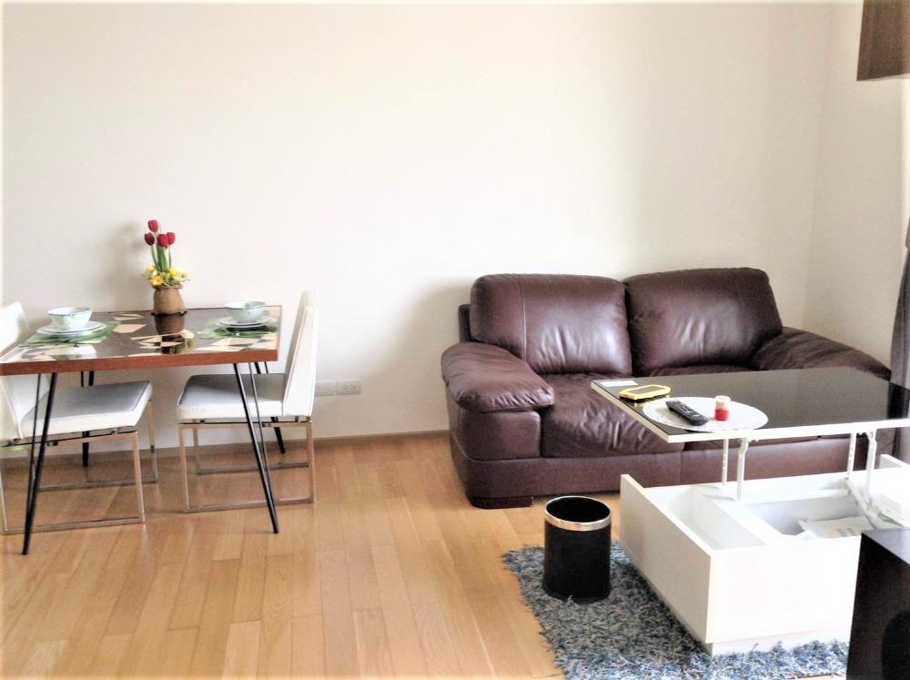 For RentCondoSukhumvit, Asoke, Thonglor : Condo for rent 39 by Sansiri Price 39,000 Baht Size 55 Sqm. Bedroom 1 Floor 29 View City