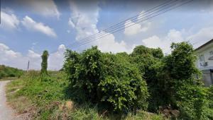 For SaleLandRathburana, Suksawat : Land for sale on Phutthabucha Road, 27,500 baht per square wah, suitable for housing development.