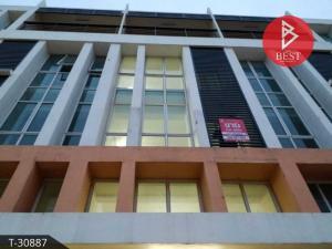 For SaleShophouseRattanathibet, Sanambinna : Commercial building for sale Setthee Villa Sanambinnam Project