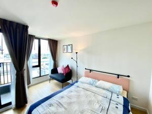 เช่าคอนโดรังสิต ธรรมศาสตร์ ปทุม : For Rent 租赁式公寓 Attitude BU (studio )23sq.m. 10,000 THB Tel. 065-9899065