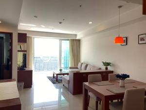 For RentCondoWitthayu,Ploenchit  ,Langsuan : Condo for rent Baan Rajprasong (Ratchadamri) BAAN RAJPRASONG CONDOMINIUM large room 77 sqm. 24th floor, fully furnished, ready to move in