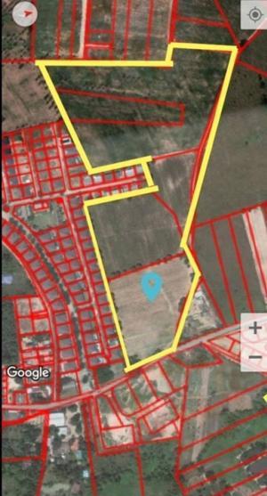For SaleLandPattaya, Bangsaen, Chonburi : ขายที่ดินเปล่าติดหมู่บ้านปราณลี ห้วยใหญ่ , พัทยา ข้างหลังติดเขา ด้านหน้าติดถนน เหมาะสำหรับทำหมู่บ้าน