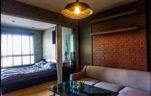 For RentCondoRattanathibet, Sanambinna : Condo for rent D Condo Rattanathibet, beautiful room