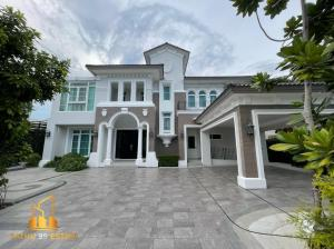 For SaleHousePinklao, Charansanitwong : Luxury house for sale • Ladawan Ratchapruek - Pinklao • Luxury decoration, position near the lake, south garden, choose a house by famous artist Ready to move in