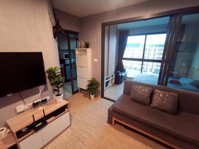 For SaleCondoOnnut, Udomsuk : ✨Limited Time Offer!! For Sale / Rent Stylish 1 Bed on Top Floor, The Excel Hideaway Sukhumvit 50 near Onnut BTS✨
