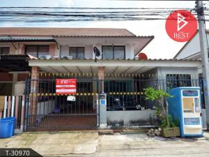 For SaleTownhouseRangsit, Patumtani : Sell townhome behind the corner. Pruksa 66 Village, Nava Nakorn, Pathum Thani