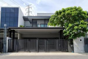 For RentTownhouseBangna, Lasalle, Bearing : Vive bangna Km.7 Near Mega bangna for rent ( PST-EVE232 )