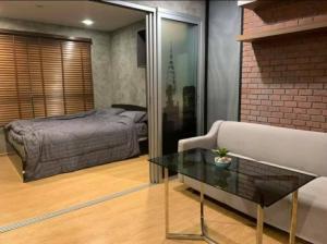 For RentCondoBangbuathong, Sainoi : Nice room for rent, D Condo Rattanathibet 6,000 baht / month, MRT Sai Ma 300 m.