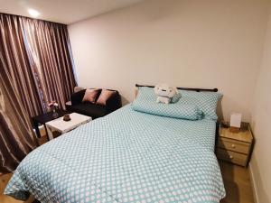 For RentCondoRangsit, Patumtani : Condo for rent, Attitude BU Studio, 1 bathroom, size 24 sqm., Building B, 5th floor