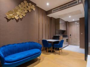 For RentCondoRama9, RCA, Petchaburi : [ Condo For Rent ] Ashton Asoke - Rama9 , MRT Rama 9, 1 Bedroom 35sq.m., Nice view