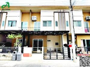 For RentTownhouseRama5, Ratchapruek, Bangkruai : 2 storey townhome for rent, Pleno (Pleno), Ratchapruek - Rama 5