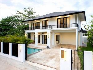 ขายบ้านเชียงใหม่ : AE64138 ขายบ้านสร้างใหม่ในโครงการหรู สารภี เชียงใหม่ พร้อมสระว่ายน้ำส่วนตัว พท 99 ตรว 4นอน 4น้ำ