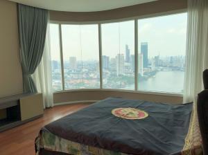 เช่าคอนโดพระราม 3 สาธุประดิษฐ์ : For Rent 租赁式公寓 Menam Residences (3bed 4bath )160sq.m. 100,000 THB Tel. 065-9899065
