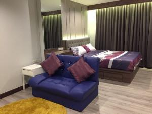 For RentCondoOnnut, Udomsuk : M1623-Condo for rent Lumpini Ville Sukhumvit 77, near BTS On Nut, with washing machine, fully furnished, ready to move in.