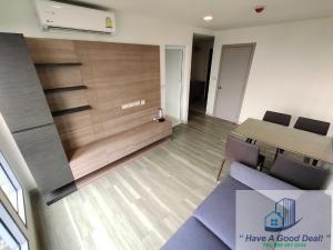 For SaleCondoOnnut, Udomsuk : 50.63 sq m suite, corner room, 8th floor, Monique Sukhumvit 64