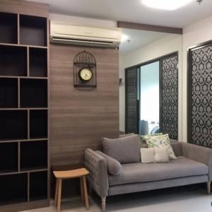 For RentCondoOnnut, Udomsuk : Condo for rent, Ideo Blue Cove, 1 bed plus, next to BTS Udom Suk