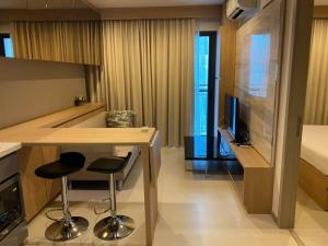 For RentCondoSukhumvit, Asoke, Thonglor : 🔥 Best Deal🔥 @Rhythm Sukhumvit 36-38 (35 sq m) 1 bedroom, 1 bathroom, beautiful view, fully furnished + electric, ready to move in.