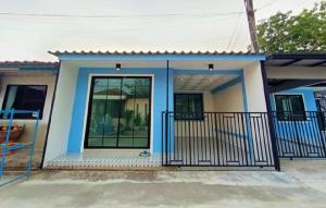 For SaleTownhouseBangbuathong, Sainoi : 🔰 Single storey townhouse Pruksa 3 Village, Bang Bua Thong, Nonthaburi, beautiful house ready to move in.