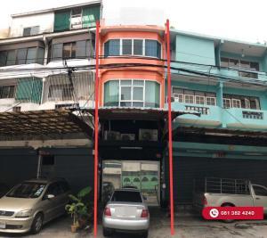 For SaleShophouseRama3 (Riverside),Satupadit : 5-storey commercial building, Soi Chan 13, Bangkok, Yan Nawa, 13.4 sq m, 250 sq m.