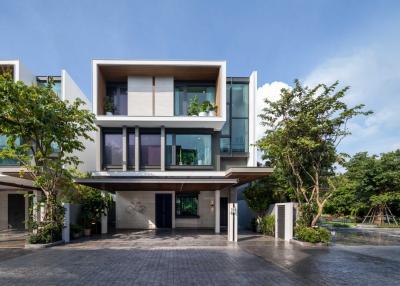 For SaleHouseRatchadapisek, Huaikwang, Suttisan : I-Nine Pool Villa [Detached House with Private Pool]