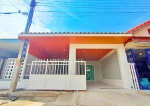 For SaleTownhouseBangbuathong, Sainoi : 🔰 Pruksa Village 3, one-storey townhouses, ready to move in, bustling location 🔰